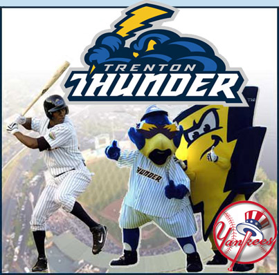 Visit the Trenton Thunder for family fun in Trenton New Jersey, near Philadelphia